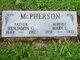 "Mary Louise ""Maud"" <I>Simmons</I> McPherson"