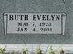 Profile photo:  Ruth Evelyn <I>Burris</I> Boy Satterfield