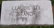 Claudie Lee Branch