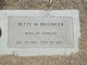 Bette M. <I>Alt</I> Billinger
