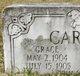 Profile photo:  Grace Carter