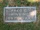 "Frederick Carl John ""Fred"" Winning"