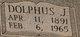 "Profile photo:  Adolphus Jackson ""Dolphus"" Blevins"