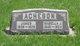 Isabella Jane <I>Dyer</I> Acheson