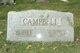 "William Benzley ""Bill"" Campbell Jr."