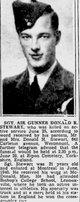 Sgt Donald Ross Stewart
