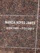 Marcia Noyes James