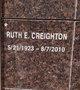 Ruth E Creighton