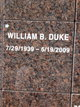 William B Duke