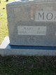 "Mary Druetta ""Mollie"" <I>Albritton</I> Moak"