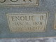 Profile photo:  Enolie B. <I>Bennett</I> Ellisor
