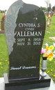 """Cynthia S. """"Cyndi"""" <I>Marlow</I> Alleman"""