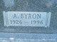 Profile photo:  A. Byron Cordes