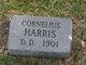 Profile photo:  Cornelius Harris