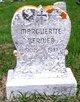 Marguerite <I>Bolduc</I> Bernier