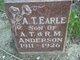 Profile photo:  A. T. Earle Anderson