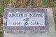 "Profile photo:  Adolph H ""Abe"" Boehne"
