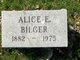 Profile photo:  Alice E. Bigler