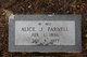 Profile photo:  Alice J. Parnell
