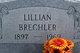 Lillian Grace <I>Christman</I> Brechler
