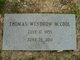 "Profile photo:  Thomas Windrow ""Tommy"" McCool"