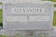 Charlie Crutchfield Alexander