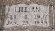 Lillian <I>Cantrell</I> Lott