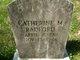 Catherine M. <I>Underwood</I> Radford