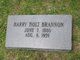 "Profile photo:  Henry Holt ""Harry"" Brannon"