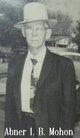 """Profile photo:  Abner I. B. """"Ike"""" Mohon"""