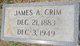 James Adrien Crim