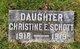 Christine E Schott