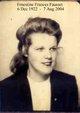 """Profile photo:  Ernestine Frances """"Ernie"""" <I>Fausset-Griffin</I> Cox"""