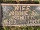 Minnie A Schott