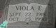Viola E. <I>Owens</I> Bowen