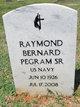 Raymond Bernard Pegram, Sr