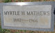 Myrtle <I>Hambright</I> Matthews
