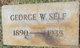 George W Self
