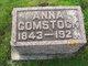 Sidney Anna <I>Hull</I> Comstock