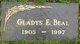 Gladys <I>Engle</I> Beal