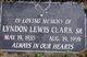 Lyndon Lewis Clark, Sr