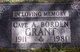 Capt Alexander Borden Grant
