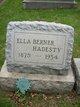 Ella <I>Berner</I> Hadesty