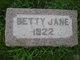 Betty Jane Adams