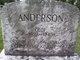 Johanna Andersdotter <I>Rosen</I> Anderson