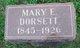 Mary E. Dorsett
