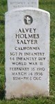 Profile photo:  Alvey Holmes Salyer