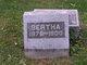 Profile photo:  Bertha Ethel <I>Childers</I> Brush