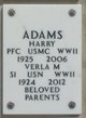 PFC Harry Adams