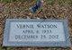 Vernie <I>Brooks</I> Watson